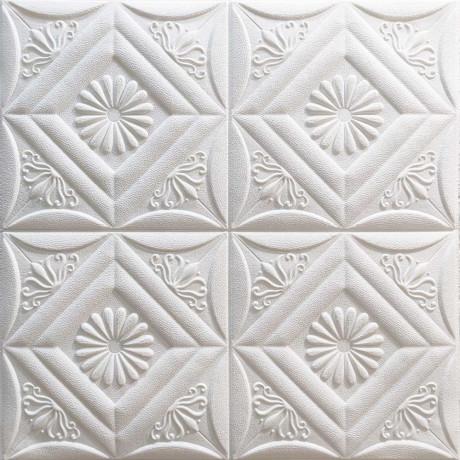 Самоклеющаяся декоративная стеновая 3D панель 700x700x6мм