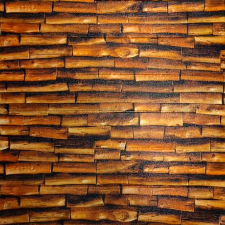 Самоклеющаяся декоративная 3D панель огненное дерево