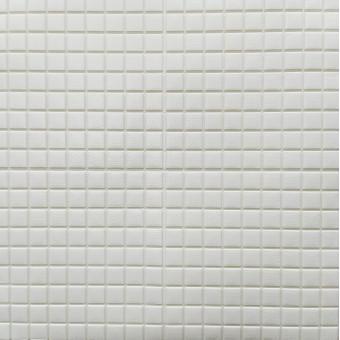 Самоклеюча 3D панель біла мозаїка 700x770x5мм (198)