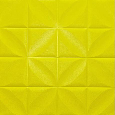 Самоклеющаяся декоративная стеновая 3D панель 700x700x8мм