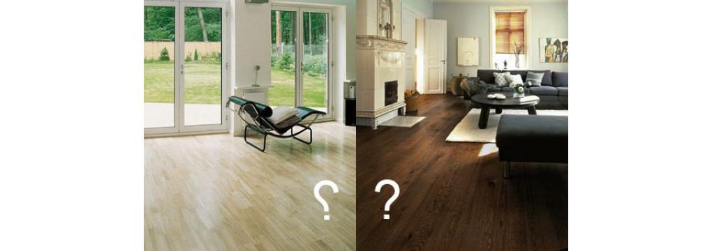 Як вибрати колір підлоги?