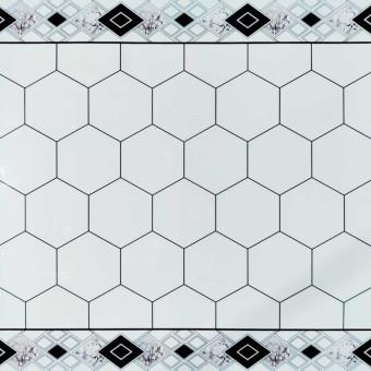 Самоклеюча вінілова плитка 600*600*1,5мм, ціна за 1м2 (СВП-211-глянець)