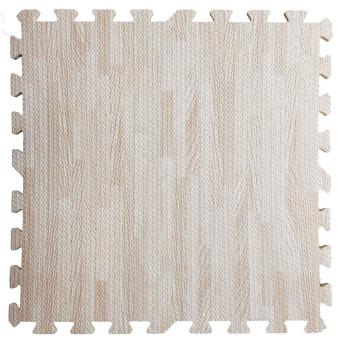Підлога пазл - модульне підлогове покриття світло-рожеве дерево (МР12)