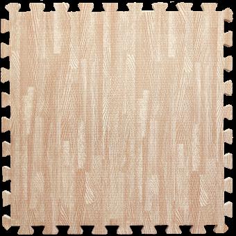 Пол пазл  - модульное напольное покрытие  розовое дерево