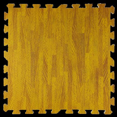Підлога пазл - модульне підлогове покриття бурштинове  дерево