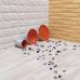 Пол пазл  - модульное напольное покрытие светло-розовое дерево