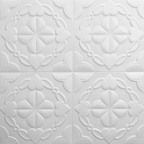 Самоклеющаяся декоративная 3D панель 700x700x9мм