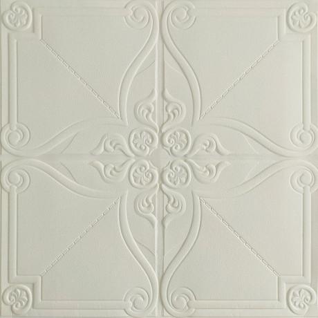 Самоклеющаяся декоративная 3D панель орнамент 700x700x5мм