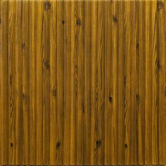 Самоклеющаяся 3D панель бамбук дерево 700x700x8мм