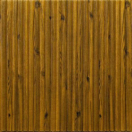 Самоклейка 3D панель бамбук дерево 700x700x8мм